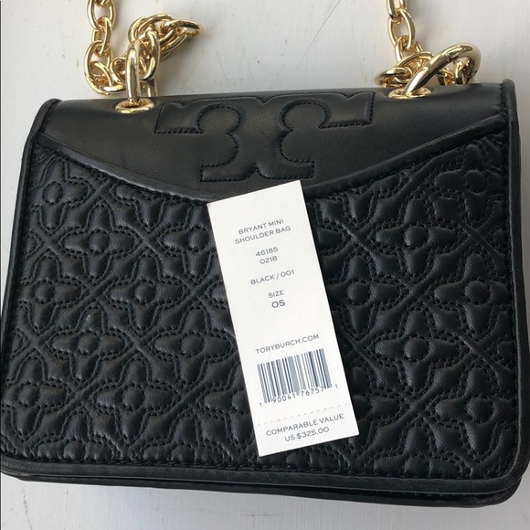 0eeb5be0622  LIKENEW Tory Burch Bryant mini Shoulder Bag